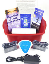 DETOX FOOT SPA BATH - New Model  Ionic Cleanse Detox Foot Bath.1 YEAR WARRANY!