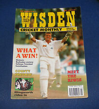 WISDEN CRICKET MONTHLY MAY 1994 - WHAT A WIN!/COUNTY PREVIEW/MEET THE KIWIS