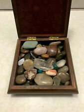 Large Vintage Rock & Mineral / Gem Collection With Nice Box