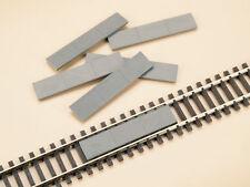 BNIB 48603 OO HO Gauge Track Crossing Concrete Plates