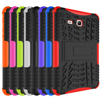 Rugged Shockproof Hard Rubber Case Cover for Samsung Galaxy Tab 3/ E Lite 7.0