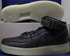Nike Air Force 1 Mid 07 LV8 Black White Quilted SZ 10 ( 804609-005 )