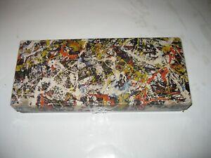 Vintage Jackson Pollock CONVERGENCE Springbok 340 + Pc Jigsaw Puzzle with Poster