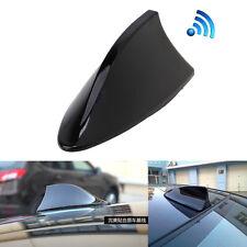 Black Universal Car SUV Roof Radio Shark Fin Style AM/ FM Signal Aerial Antenna