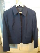New Gorgeous Ladies Wardrobes Monza Pin Stripe Short Jacket, Navy, Size 12R...