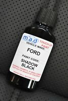 FORD SHADOW BLACK TOUCH UP KIT BOTTLE REPAIR PAINT FIESTA FOCUS TRANSIT ETC