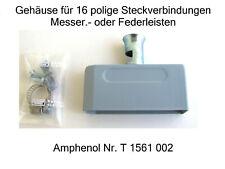 300 Amphenol Gehäuse für 16 pol Messer - Federleisten Großhandelsmengen Stecker