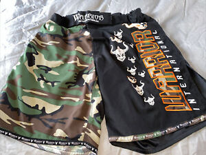 Warrior International Camouflage Shorts Men's UFC MMA Fight Small