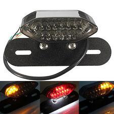 MOTORCYCLE MOTORBIKE 20 LED REAR TAIL BRAKE INDICATOR LIGHT NUMBER PLATE LAMP