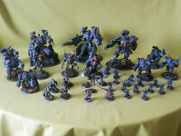 WARHAMMER 40K TAU ARMY PAINTED - MANY UNITS TO CHOOSE FROM