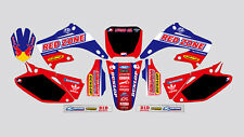 RED ZONE HONDA CR 125-250 2002-2012 DECAL STICKER GRAPHIC KIT