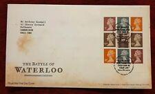 GB FDC 2015 The Battle of Waterloo , Tallents House Edinburgh postmark