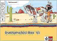 Grundwortschatz üben 1/2, Deutsch, Indianerheft von Klett - Neu!
