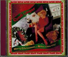 CYNDI LAUPER - MERRY CHRISTMAS - HAVE A NICE LIFE - NEW SEALED CD