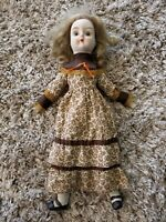 "19"" Antique Porcelain Doll Not Marked"