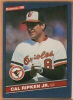 1986 Donruss Baseball - #210 Cal Ripken Jr - Baltimore Orioles - nrmt/mint