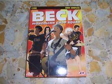 BECK MONGOLIAN CHOP SQUAD COFANETTO 4 DVD SERIE COMPLETA DYNIT USATO AFFARE!!!