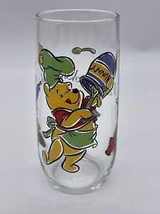 """Disney Winnie The Pooh """"What's Cooking Pooh?"""" Glass"""