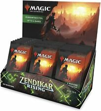 MTG English Zendikar Rising Set Booster Box With Topper Facto Sealed Ship 25 Sep