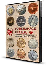 Canadian Coin Collecting Software.  All Canada Coins & Sets With Values