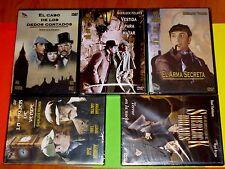 SHERLOCK HOLMES 5 dvd - Basil Rathbone - Precintada