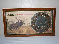 "VINTAGE Nosler Bullet Board (22 thru 338 cal) ""Alaskan Moose"""
