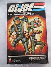 1982 Vintage GI JOE COLORFORMS Play Set complete #659 Hasbro Action Figure
