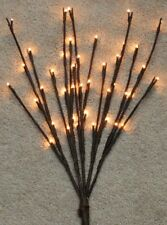 "19"" Lighted Twig Branch -- Electric -- 40 warm lights"