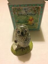 ROYAL DOULTON WOL SIGNS THE RISSOLUTION WP 17 POOH DISNEY NEW BOXED