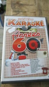 ♫ Dvd Karaoké-Succès spécial années 60(Johnny,Sylvie..)-Neuf sous cello -Zone2 ♫