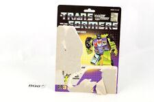 Scrapper Card 1985 Vintage Hasbro G1 Transformers