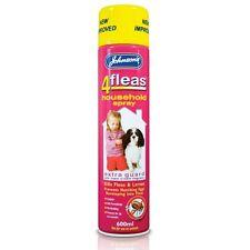 Johnsons 4fleas IGR Household Spray 600ml. Prevents Flea Eggs from Hatching.