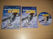 RealAir SF260 REAL AIR Pc SF 260 Add-On Flight Simulator Sim 2004 X FSX FS2004