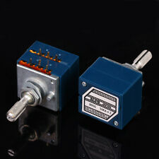New ORIGINAL ALPS RK27 27 Type Dual 50K Potentiometer Plum Handle