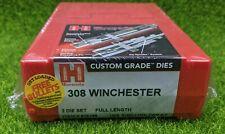 Hornady 308 Winchester Custom Grade Reloading 2-Die Set Full Length - 546358