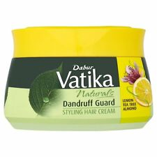 Vatika Dabur Naturals Dandruff Guard Styling Hair Cream 140 Ml