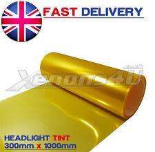 30cm X 100cm Amarillo Faros De Niebla Luz Coloreando película Wrap Vinilo Bmw E36 E46 E90