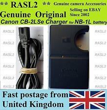 ORIGINALE Canon Caricabatteria CB-2LSE per NB-1L PowerShot S100, S200, S500, S400, S110, S330