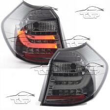 REAR LED TAIL LIGHTS BAR SMOKE FOR BMW E87 SERIES 1  07-11 LAMPS FANALE NEW