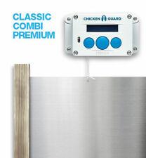 ChickenGuard Automatic Chicken Coop Door Opener ASTi Premium & Door Kit Set