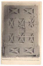 paris , ancienne porte du 21 de la rue st-jacques