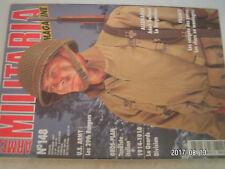 **a2 Armes Militaria magazine n°148 29th ranger Battalion / Tankiste Italien
