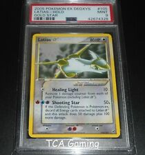 PSA 9 MINT Latias 105/107 GOLD STAR EX Deoxys HOLO Pokemon Card