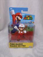 New! Jackks World of Nintendo Fire Mario Collectible Figure Mario Bros.
