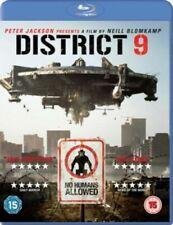 District 9 Blu-ray 2009 Region by Sharlto Copley Jason Cope