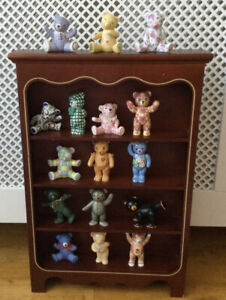 'The Teddy Bear Tribute Collection' Retired Limited Edition Franklin Mint Bears