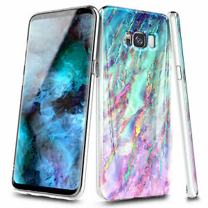 For SAMSUNG GALAXY S8 / S8 Plus Case Thin Fit Shockproof Ultra Slim Hybrid Cover