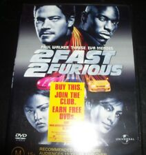 2Fast 2Furious / 2 Fast 2 Furious (Paul Walker)(Australia Region 4) DVD – New