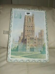 """Vintage VICTORY 125 Piece Wooden Jigsaw Puzzle """"ELY CATHEDRAL"""" *COMPLETE*"""