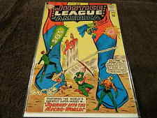 1963 DC Comics JUSTICE LEAGUE Of AMERICA #18 Journey Into The Micro World - Fine